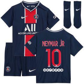 Paris Saint-Germain Home Stadium Kit 2020-21 - Infants with Neymar Jr 10 printing