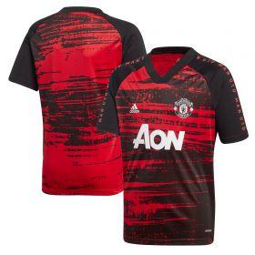 Manchester United Pre Match Shirt - Red - Kids