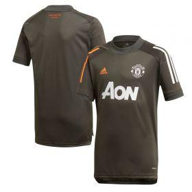 Manchester United Training Jersey - Green - Kids