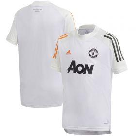 Manchester United Training Jersey - White - Kids