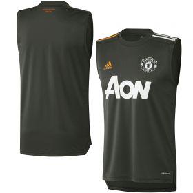Manchester United Training Sleeveless Jersey - Green