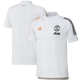 Manchester United Training T-Shirt - White