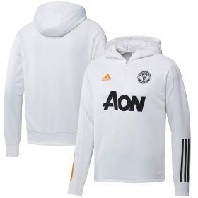 Manchester United Training Hoodie - White
