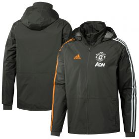 Manchester United Training Storm Jacket - Green
