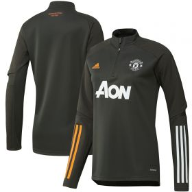 Manchester United Training Top - Green - Womens