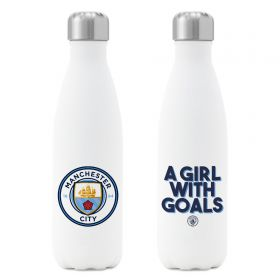 Manchester City A GIRL WITH GOALS Insulated Water Bottle