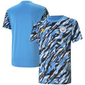Manchester City Iconic MCS Graphic T-Shirt - Black