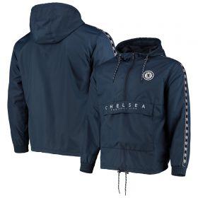 Chelsea 1/4 Zip Shower Jacket - Navy - Womens