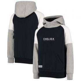 Chelsea Colour Block Hoody - Black - Boys