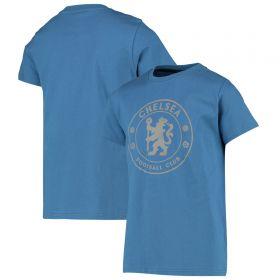 Chelsea Crest T-Shirt - Blue - Boys