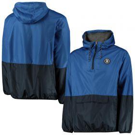 Chelsea Overhead Shower Jacket - Blue/Navy - Mens