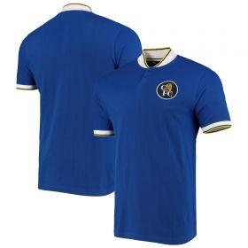 Chelsea Retro Tipping Detail Polo Shirt - Royal Blue - Mens