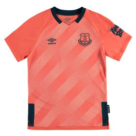 Everton Away Shirt 2019-20 - Kids with Bernard 20 printing