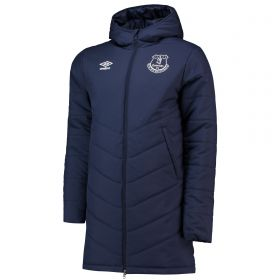 Everton Training Padded Jacket - Dark Blue