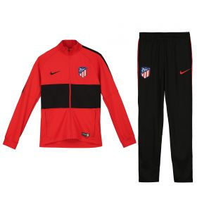 Atlético de Madrid Strike Training Tracksuit - Red - Kids