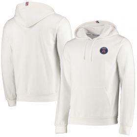 Paris Saint-Germain ESSENTIEL Crest Hoodie - White - Mens