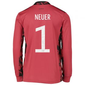 Germany Goalkeeper Shirt - Kids with Neuer 1 printing