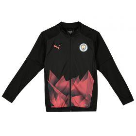 Manchester City Stadium Jacket - Black - Kids