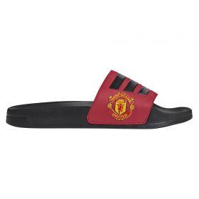 Manchester United adilette Shower Slides - Red