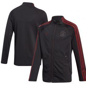 Manchester United Anthem Jacket - Black - Kids