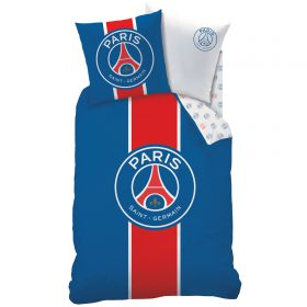 Paris Saint-Germain Classic Bedding Set - 140 x 200 + 63 x 63