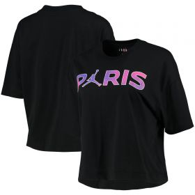 Paris Saint-Germain X Jordan Printed T-Shirt - Black - Womens
