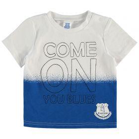 Everton Infant Come on You Blues T Shirt - Multi - Boys