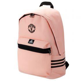 Manchester United 3 Stripe Backpack - Pink