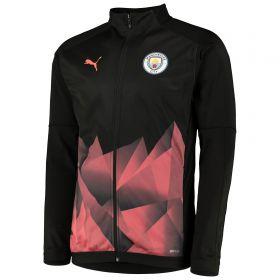 Manchester City Stadium Jacket - Black
