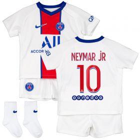 Paris Saint-Germain Away Stadium Kit 2020-21 - Infants with Neymar Jr 10 printing