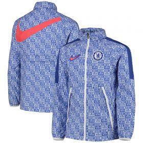 Chelsea Track Jacket - Blue & White - Kids