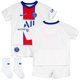 Paris Saint-Germain Away Stadium Kit 2020-21 - Infants with Di Maria 11 printing