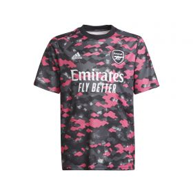 Arsenal Pre Match Shirt-Pink-Kids