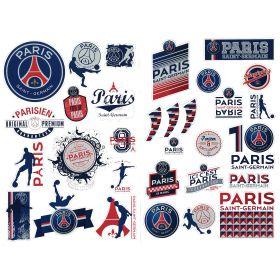 Paris Saint-Germain Crest Sticker Pack