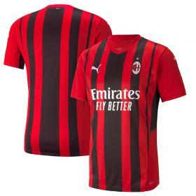 AC Milan Home Shirt 2021-22-Kids
