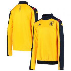 Aston Villa Training Sweat Top - Yellow - Kids