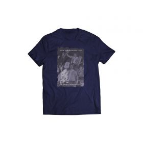 Chelsea 50th Anniversary UEFA Cup Winners Cup Graphic T-Shirt - Navy - Mens