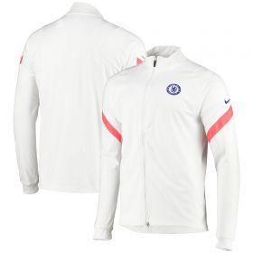 Chelsea Strike Track Jacket - White