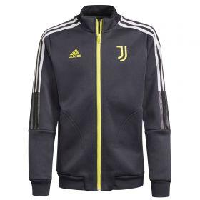 Juventus Anthem Jacket-Grey-Kids