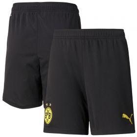 Borussia Dortmund Home Shorts 2021-22-Kids