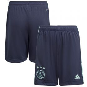 Ajax Away Shorts 2021-22-Kids