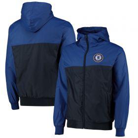 Chelsea Shower Jacket - Blue - Mens