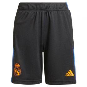 Real Madrid Training Shorts-Black-Kids