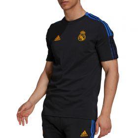 Real Madrid Training T-Shirt-Black