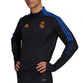 Real Madrid Training Top-Black