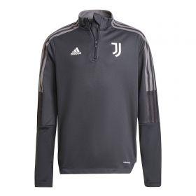 Juventus Training Top-Grey-Kids