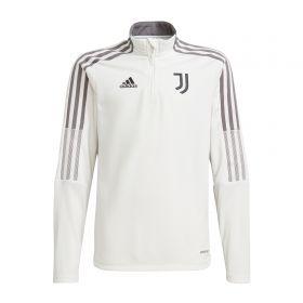 Juventus Training Top-White-Kids