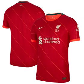 Liverpool Home Vapor Match Shirt 2021-22 - Kids
