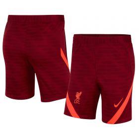 Liverpool Strike Shorts - Red - Kids