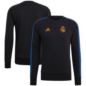 Real Madrid Sweat Top-Black